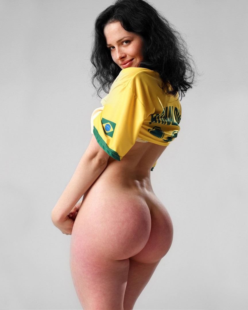 Brazilian big booty woman