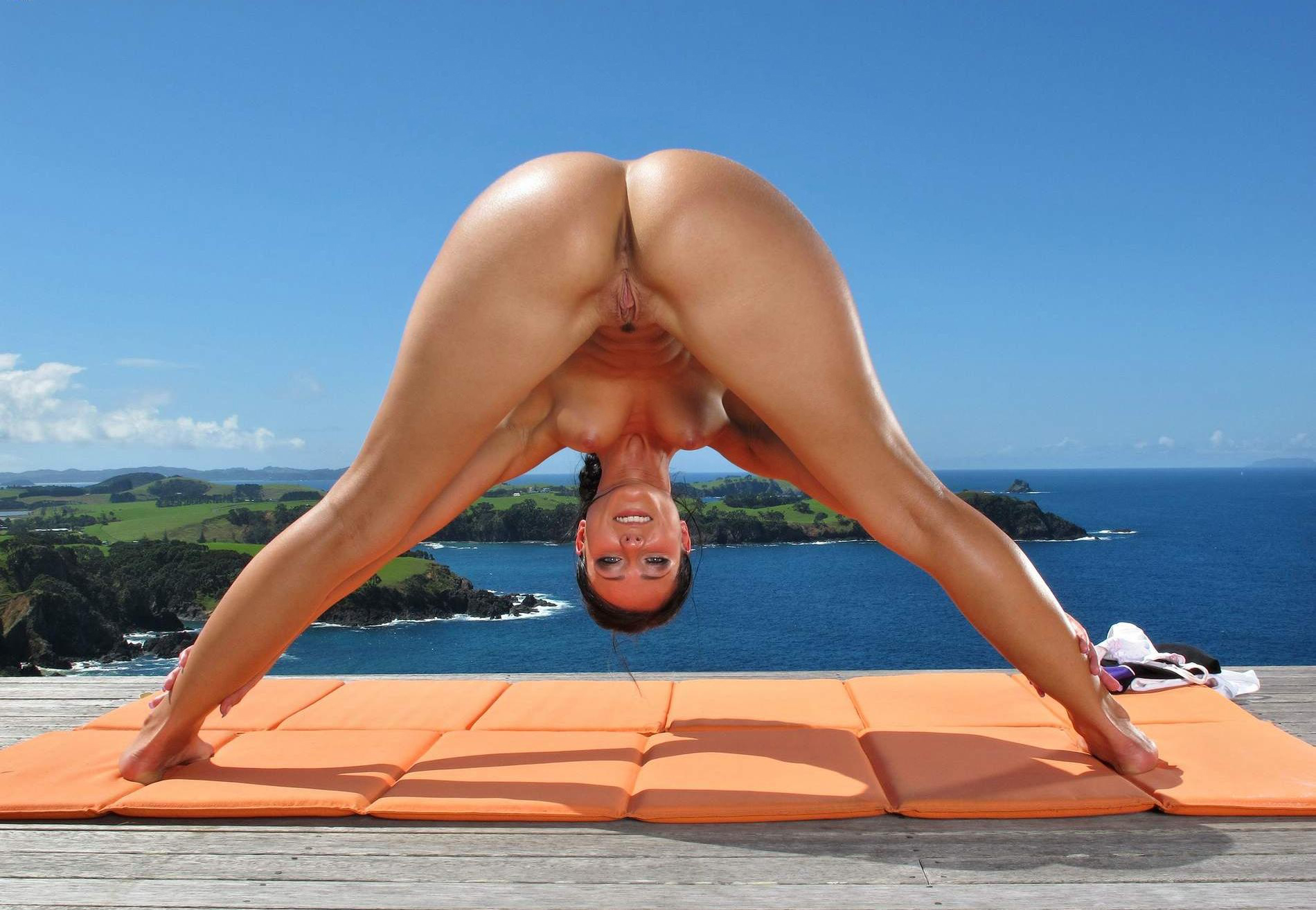 Naked Female Yoga
