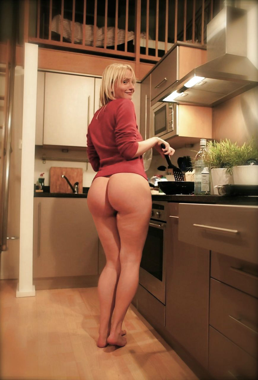 Big ass blonde mom