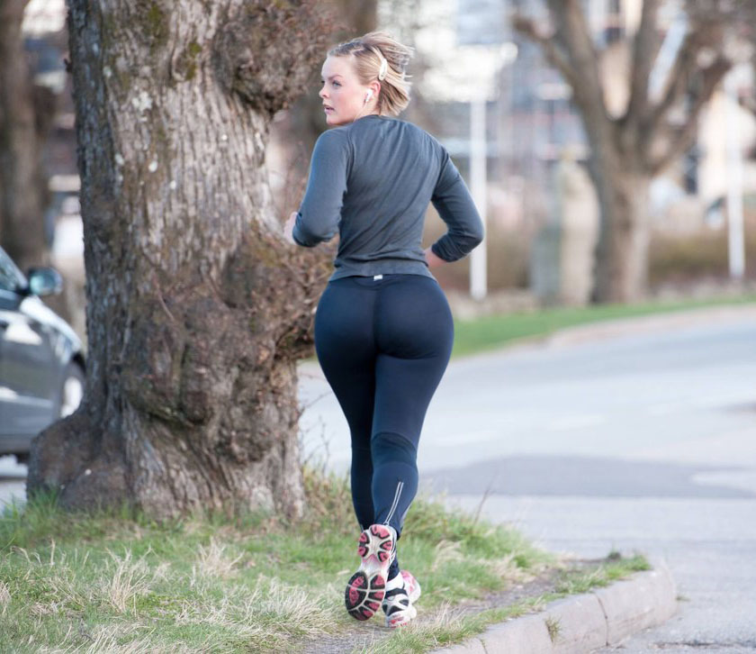 Big booty jogging