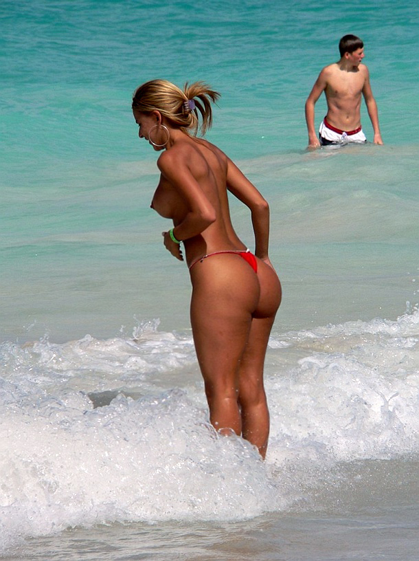 Nude beach humping gif you