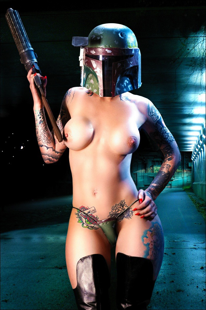 boba fett naked girl