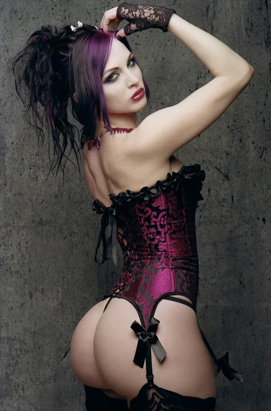 Sexy Gothic Teen Naked 76