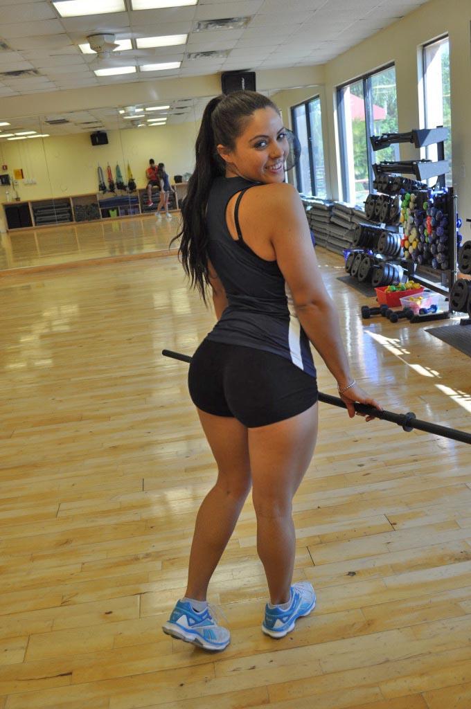 Petite Latina schoolgirl Holly Hendrix sticks a big butt plug in her tight ass  1677986