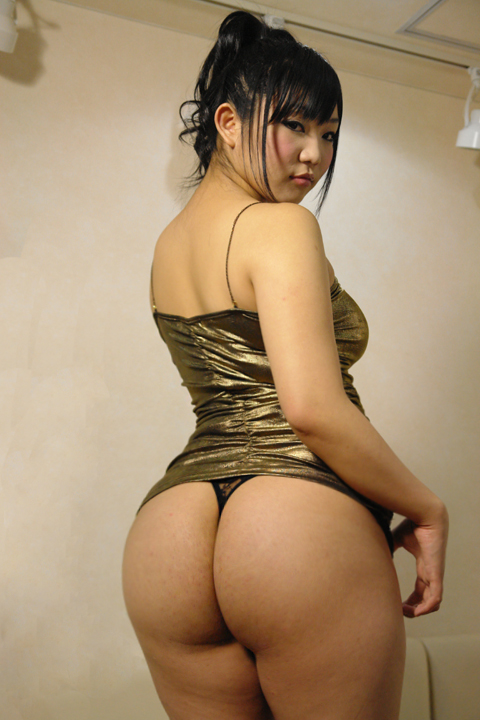 Thick thighs big ass asians