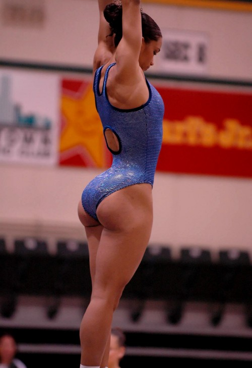 big butt gymnast