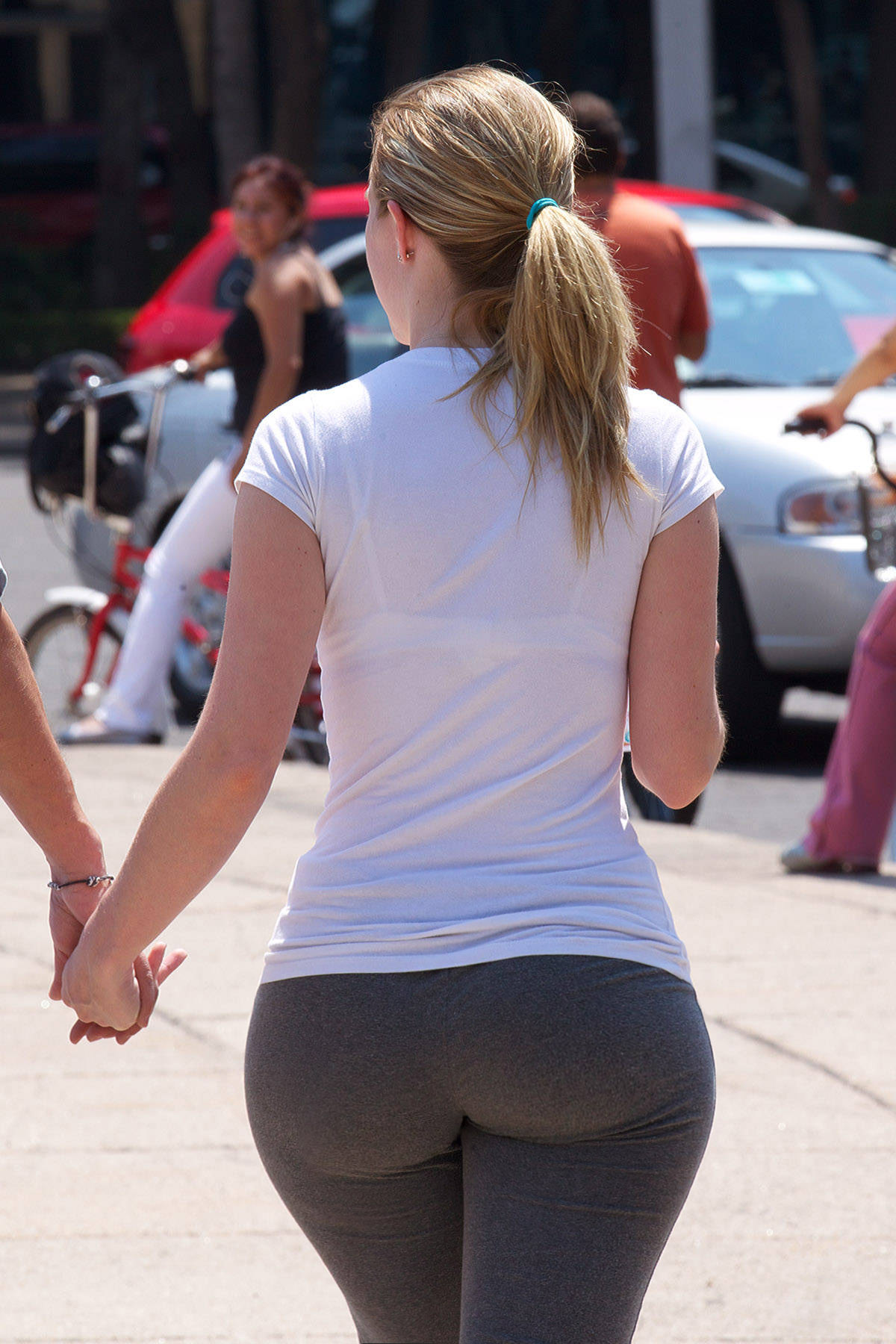 Phat ass yoga pants