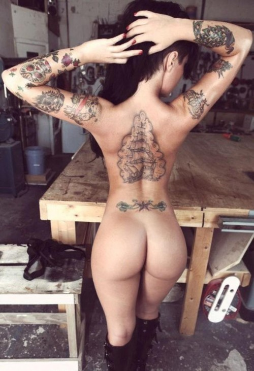 Ink and Ass - Part 2 - Booty of the Day