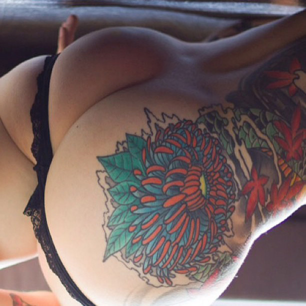 Tattoos and big ass