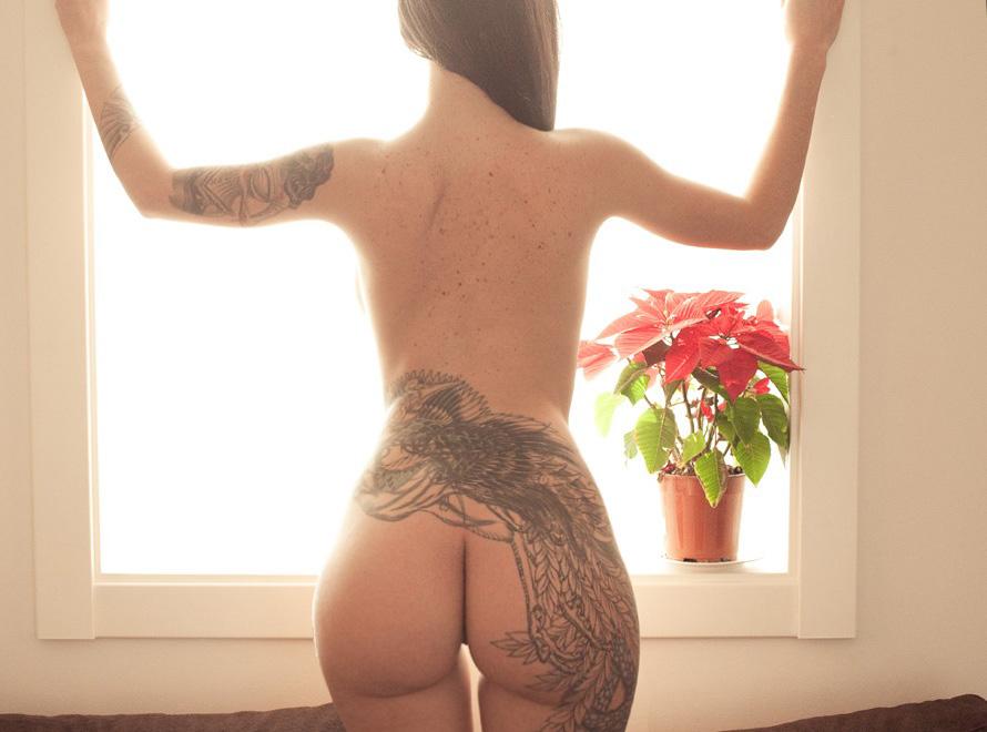 Tattoos and big ass