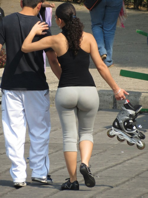 Big Booties In Yoga Pants - Part 2 - Booty Of The Day-7681