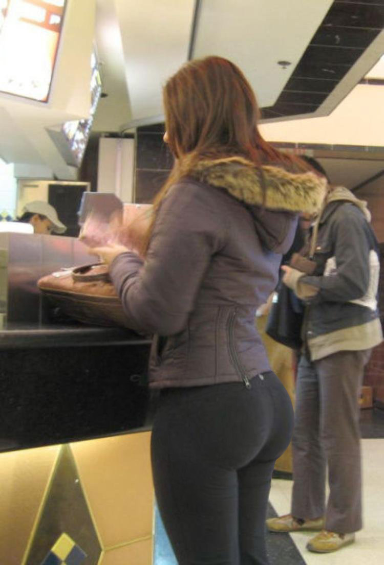 Big Booties In Yoga Pants  Part 2-2510