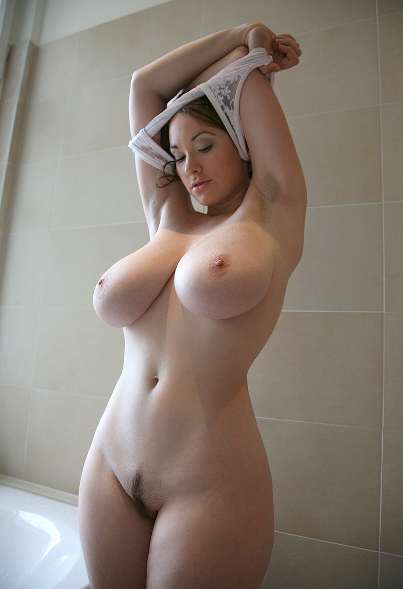 White sexy naked women