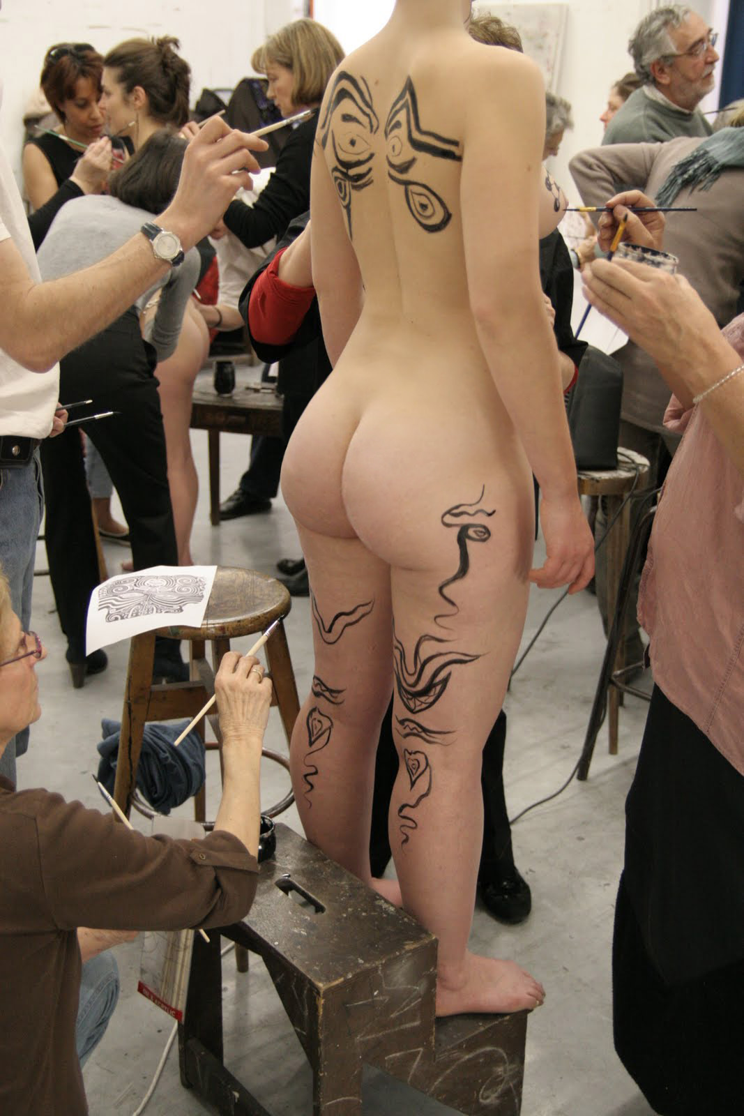 Art Class Ass - Booty of the Day