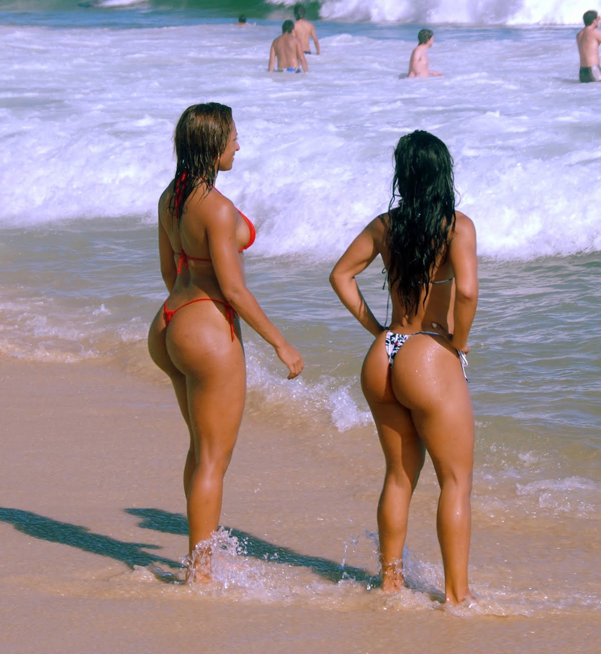 Nude brazilian women on beach