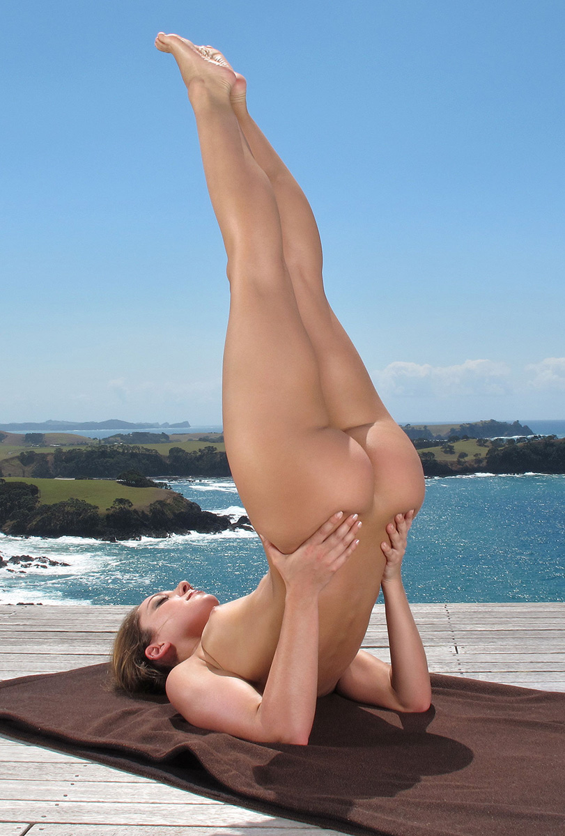 Naked Girl Yoga Video