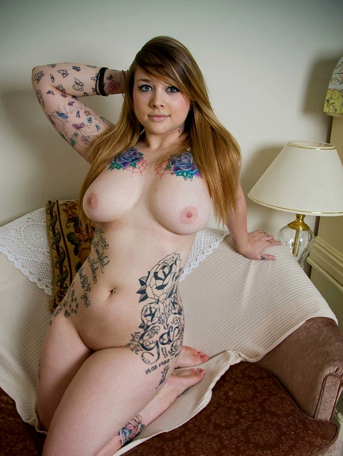 Nude girls red heads with tats consider, that