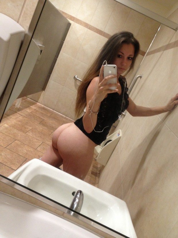 Selfie ass mature big