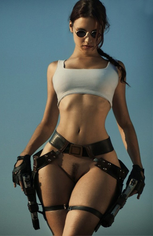 Lara croft big ass