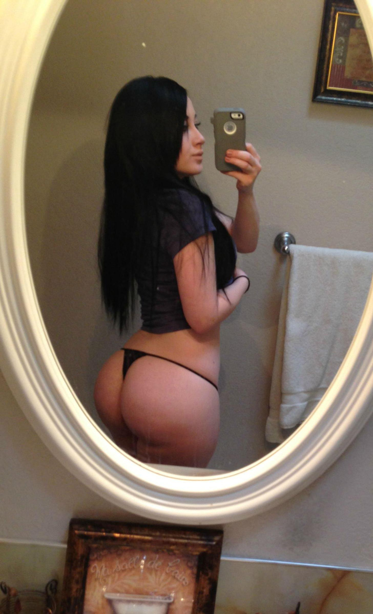 Sexy Curvy Self Shots - Part 7 - Booty of the Day