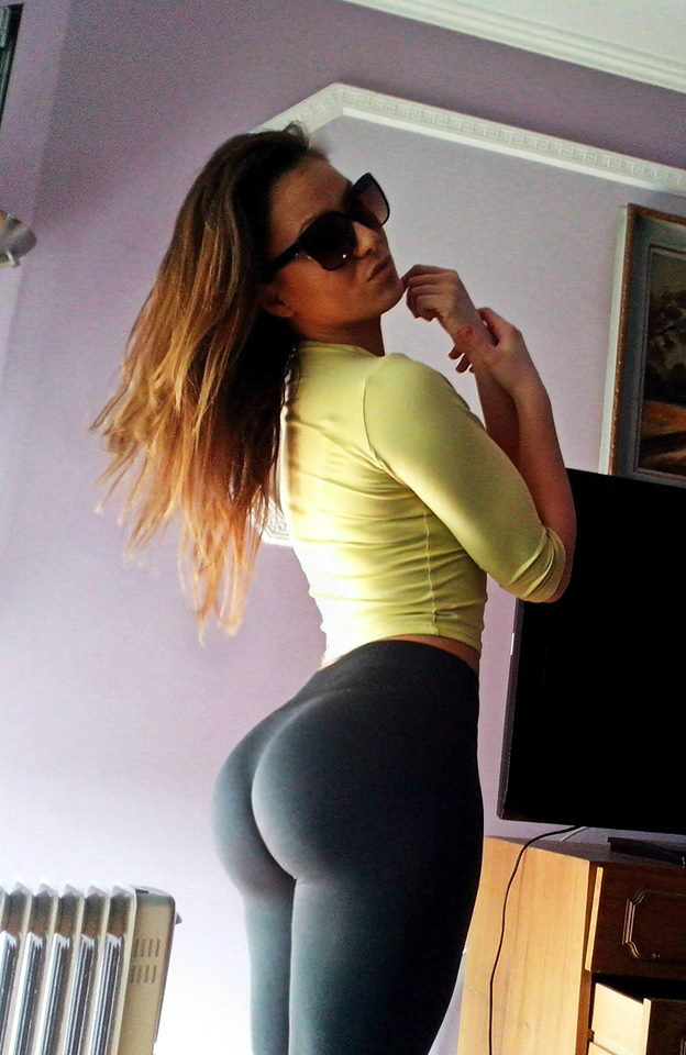 Facebook finds college babe shakes ass shows thong 3
