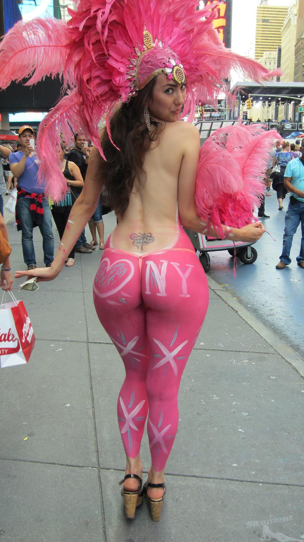 Big ass body paint