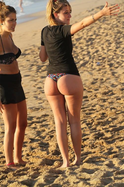 big girls on beach