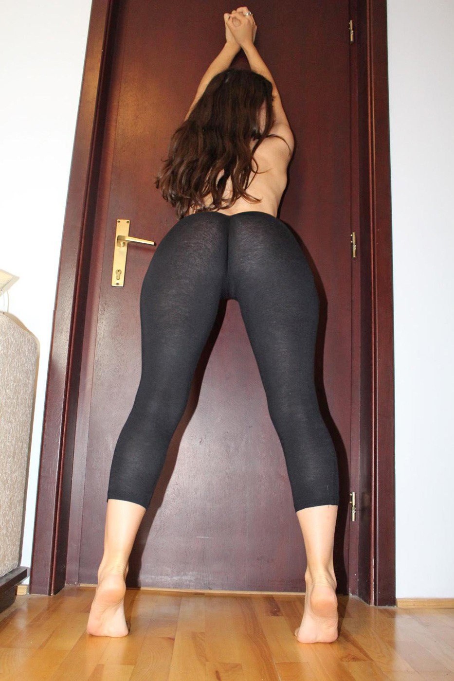Taste what Girls in see through pants booty nude not