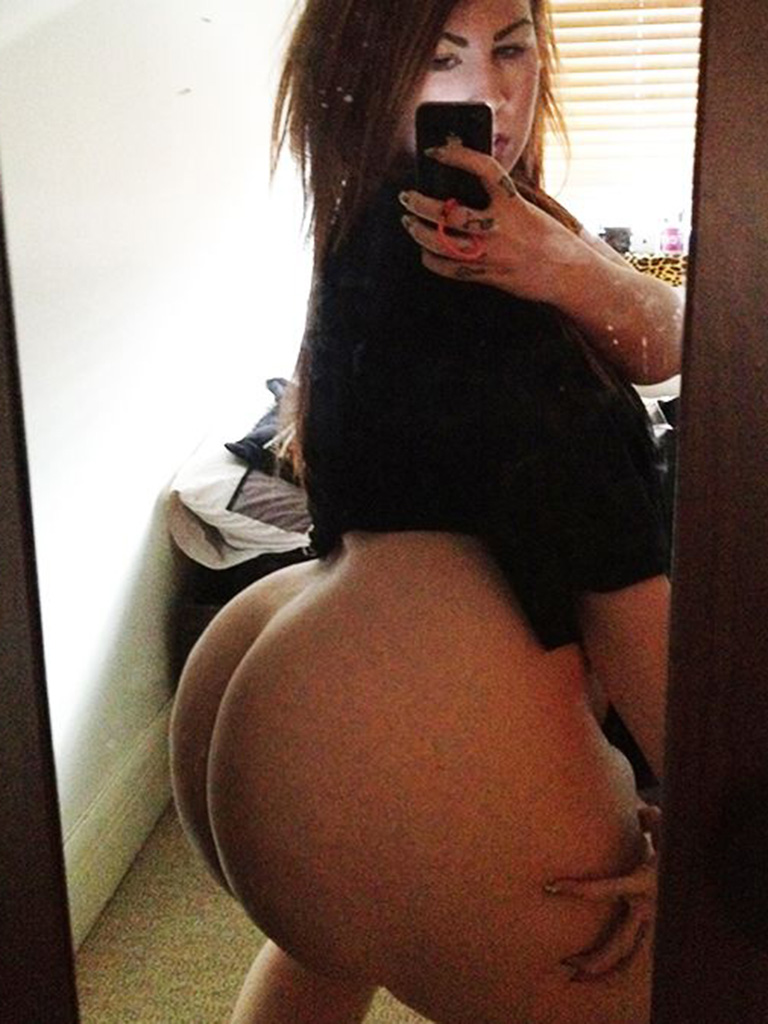 sexy teen booty nude self shots