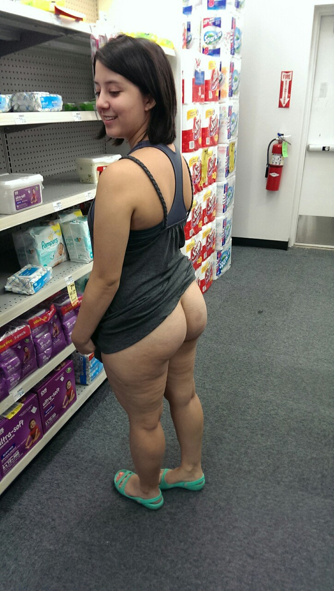 Amateur pawg shows off her phat ass 10