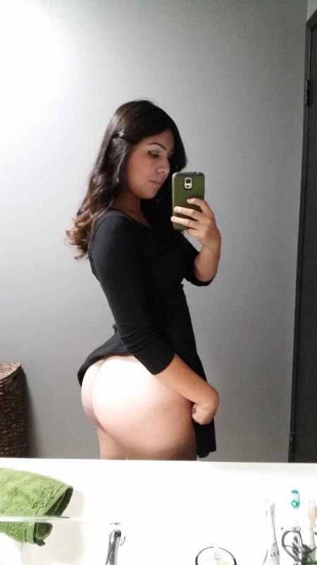 Self Shot Huge Tits