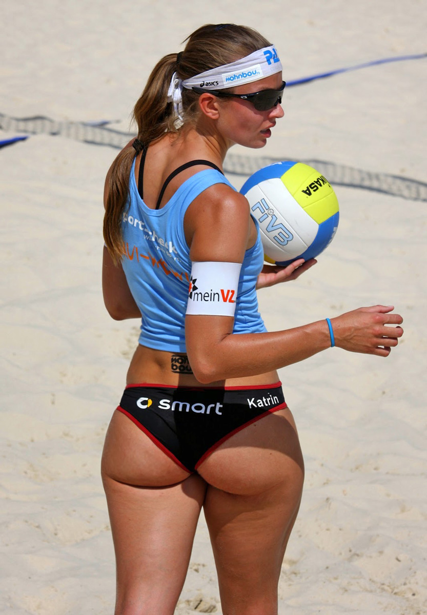 Girls volleyball ass shot