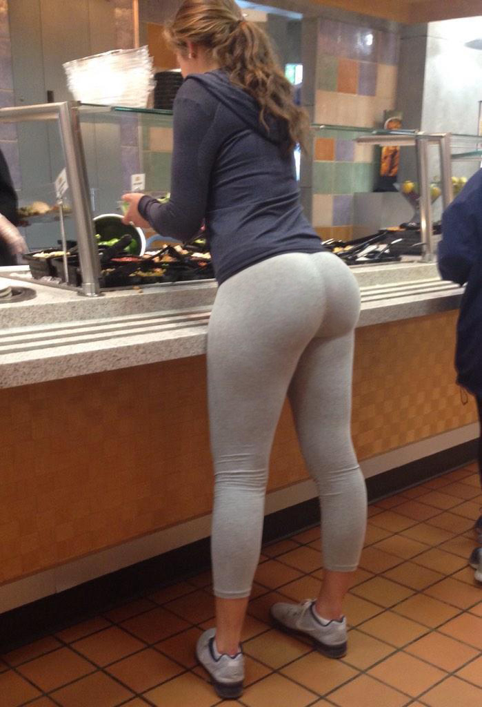 Ass in yoga pants videos