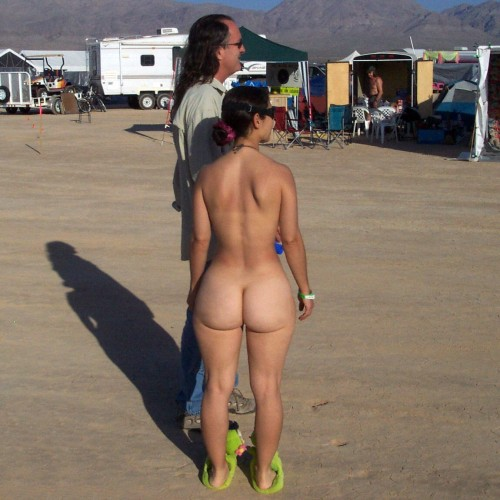 Burning Man Public Nude Curves