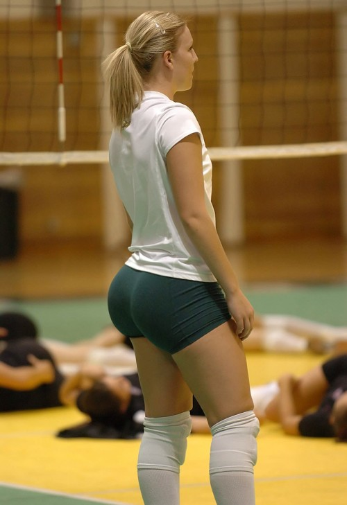 Big Ass In Volleyball Bloomers