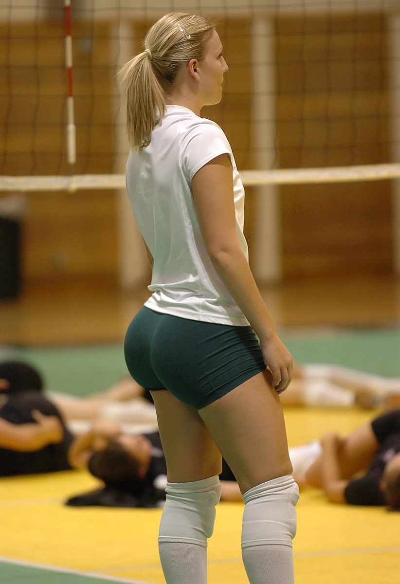 Volley ball spandex nude