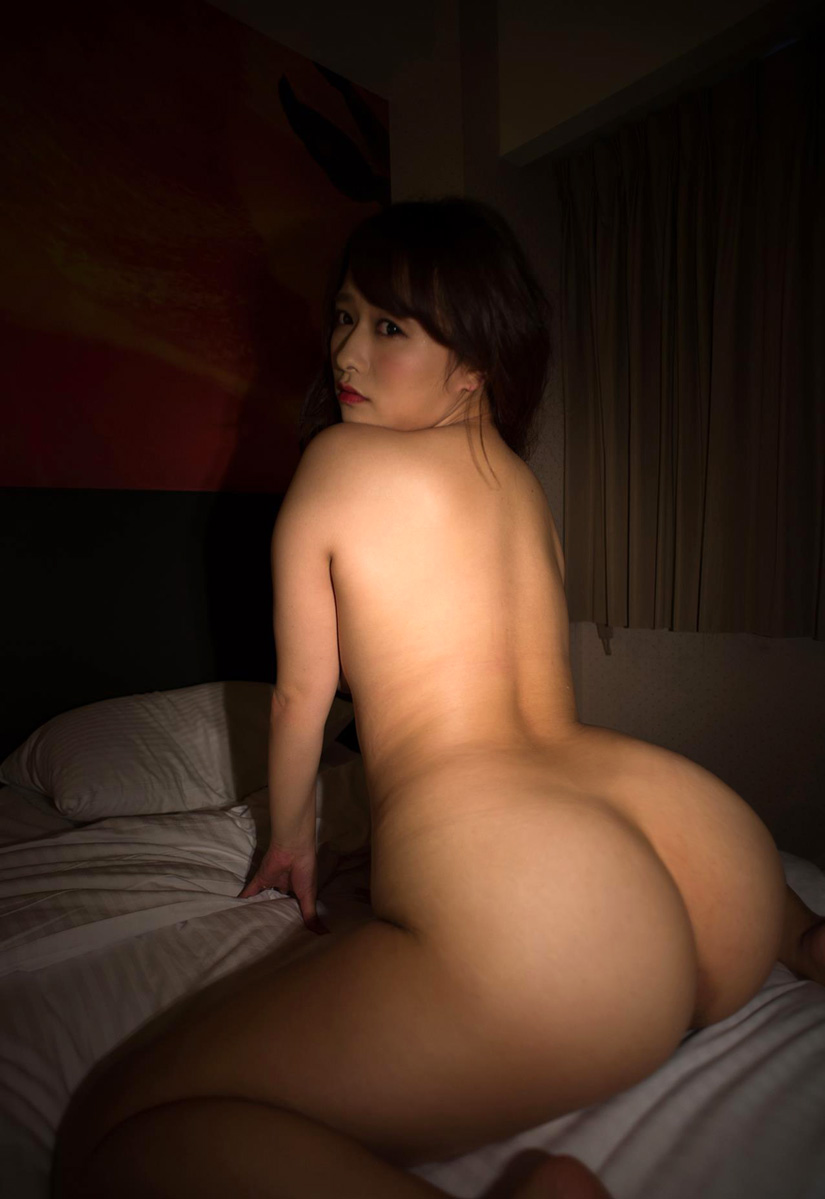 Speaking naked asian girl booty