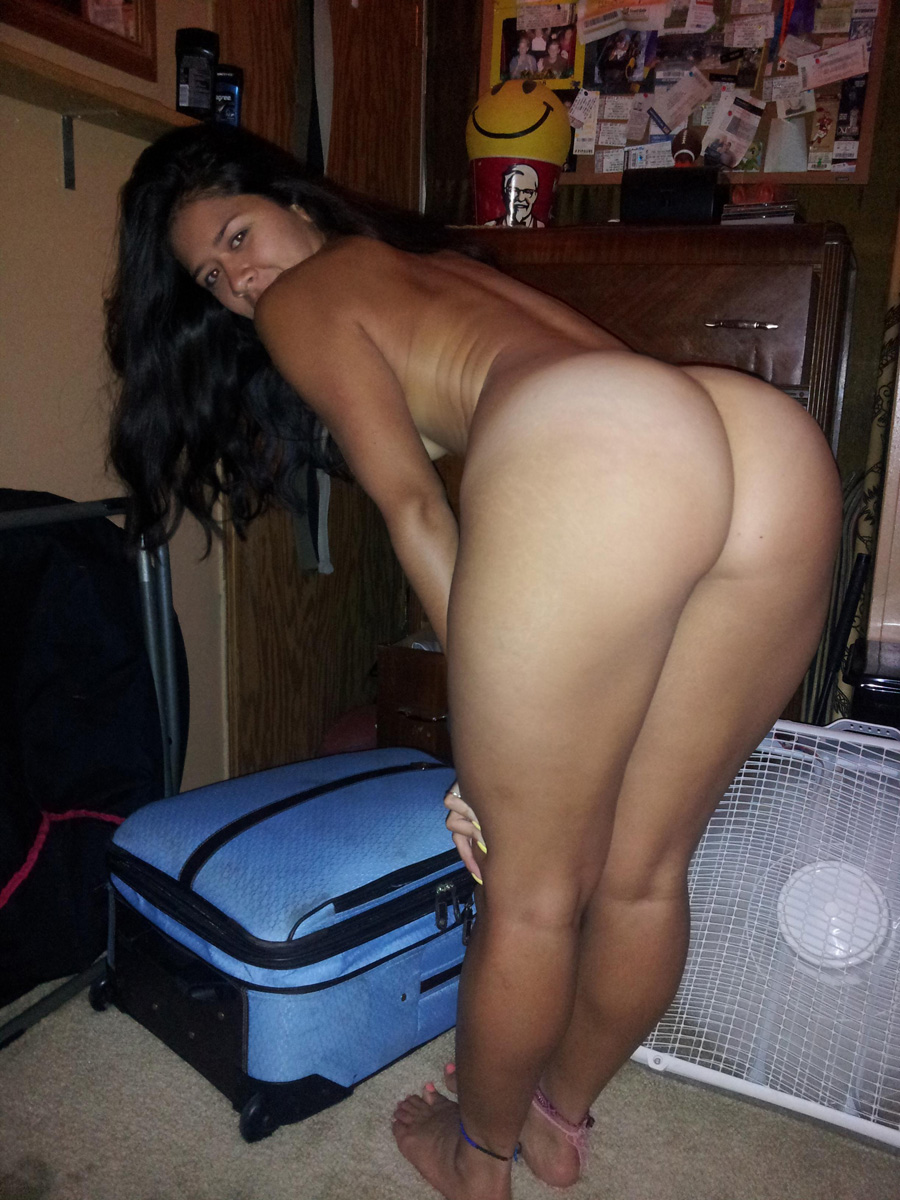 Fat ass asian