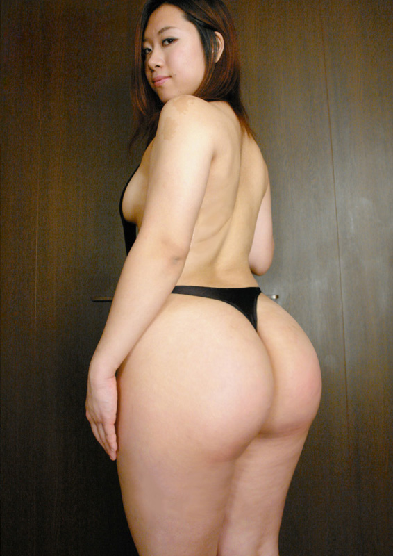 Naked asian girls with big asses