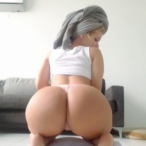 sexy chav bent over