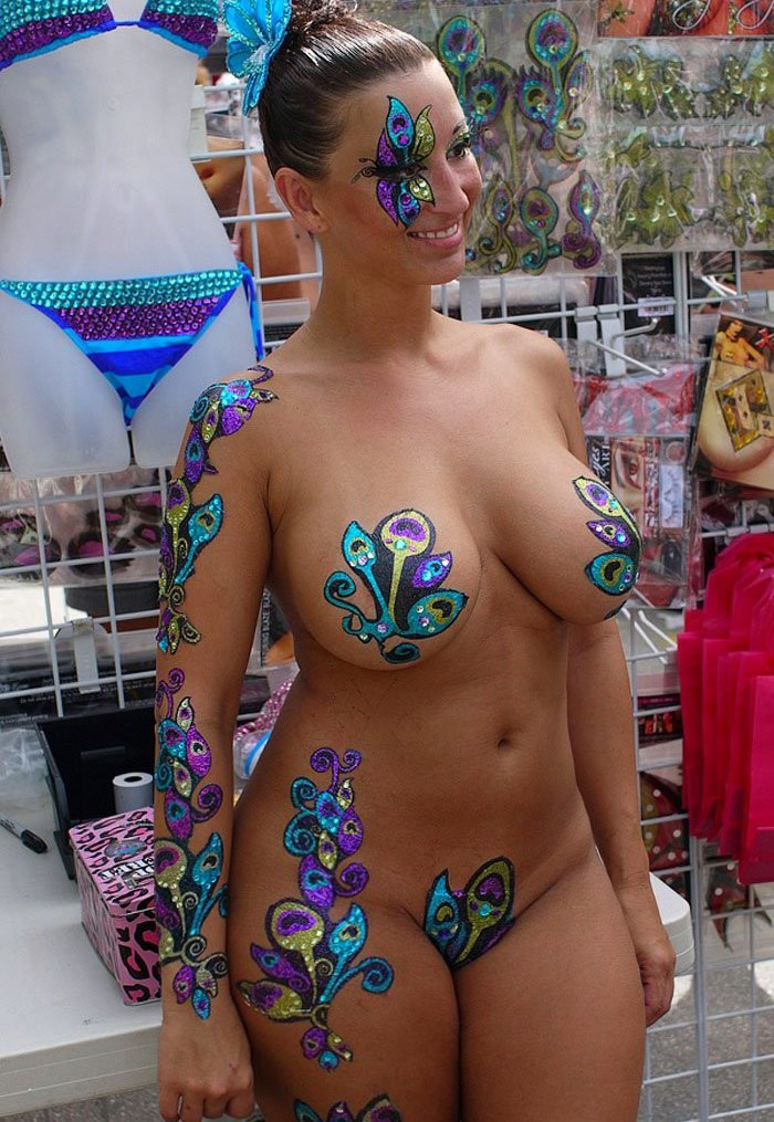 fucking in body paint