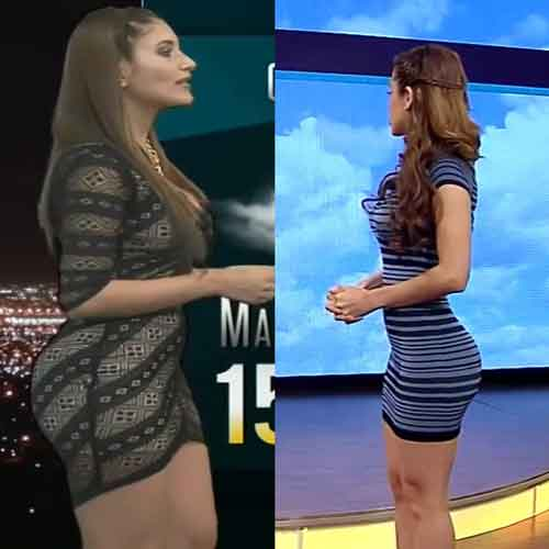 Maira rothe weather girl - 3 part 2