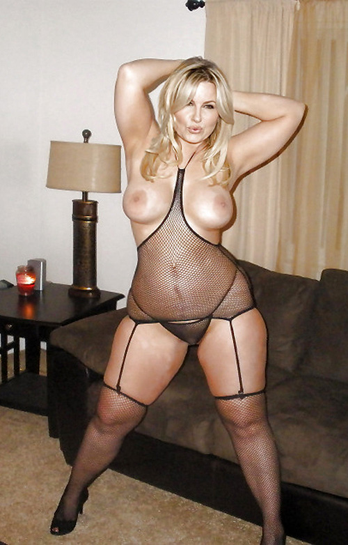 modne damer blond milf