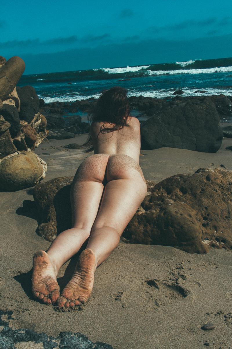 Beach booty porn