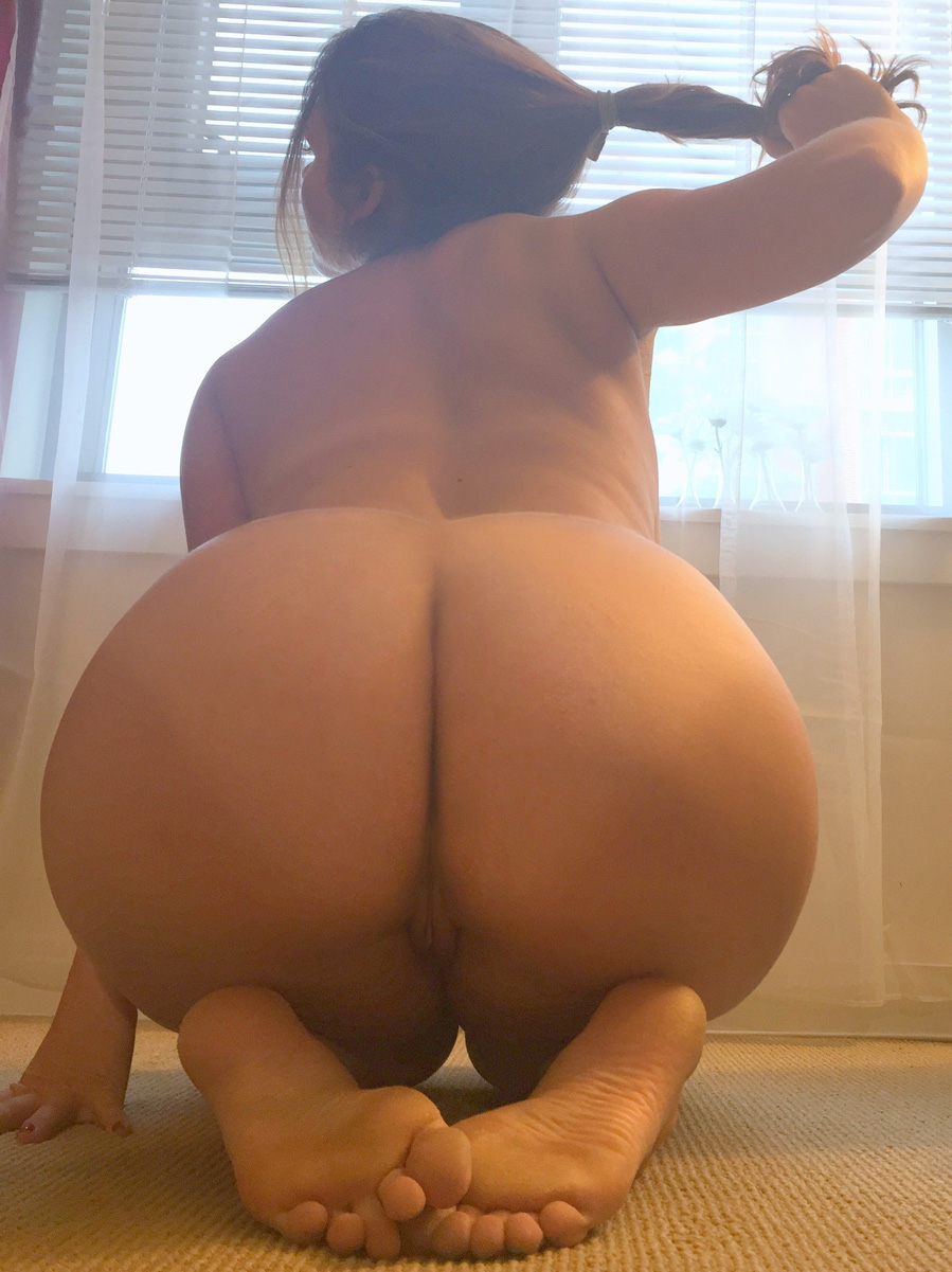 Butt bent big over latina