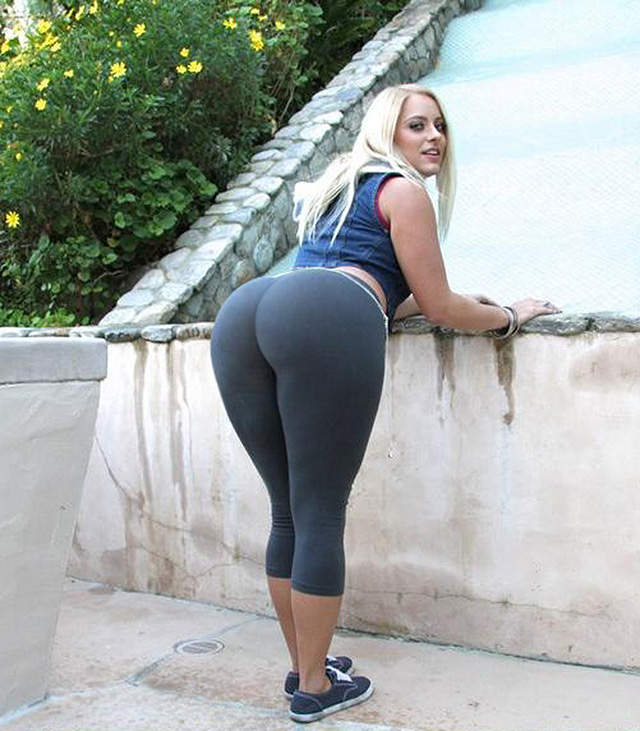 Blowjob big ass tight yoga pants NICOLE VERY