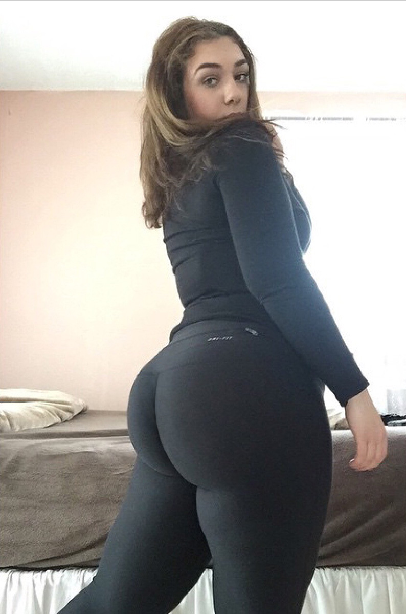 Big Booties In Yoga Pants  Part 7-8512