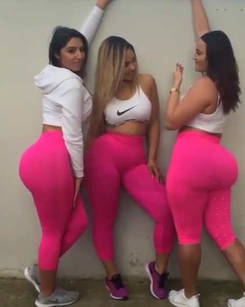 Triple Big Booty Treat - Booty Of The Day-5334
