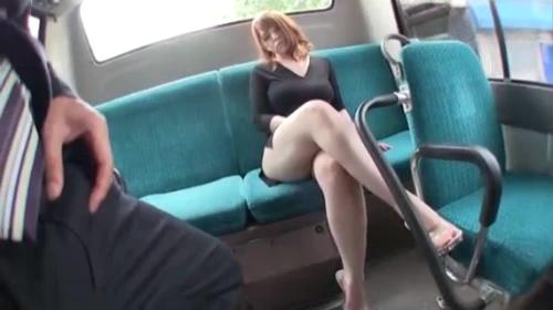 Groping ass on train
