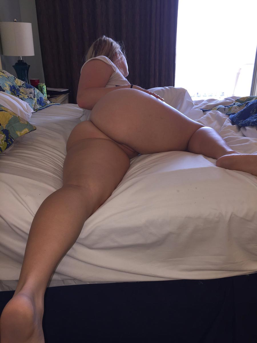 big black booties in bed naked